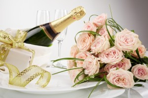 Champagne and Flowers Delivery