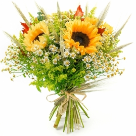 Bouquet of Autumn Flowers